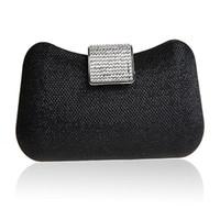 Wholesale Bling Diamond Purses - Wholesale- 2016 New Bling Women Handbag Shoulder Evening Bag red black champagne Clutch Purse Box Bag Crossbody Bags Bolsa Feminina WY45