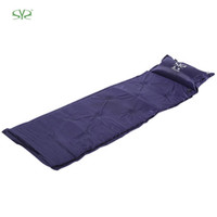 Wholesale Activity Pads - Wholesale- SHENGYUAN Inflatable Picnic Camping Mat Sleeping Pad with Pillow For Camping Pinic Barbecue Sandbeach Outdoor Activities