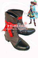 Wholesale Hetalia France Cosplay - Wholesale-Axis Powers Hetalia APH France Cosplay Shoes Anime Boots