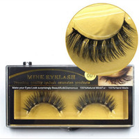 Wholesale Horse Hair Extensions - 10 Pairs Beauty Hand Made Thick Horse Hair False Eyelashes Fake Eye Lashes Natural Long Mink Makeup Extension Tools