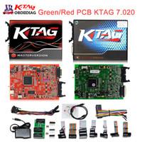 Wholesale Online Ford - 2017 Online Master Ktag V7.020 V2.23 No Token Limit K Tag 7.020 7020 ECU Programmer K-Tag ECU Chip Tuning Tool Gifts ECM Winols