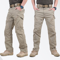 Wholesale hot pants for sale - Hot Sale IX9 Tactical Men Pants Combat Trousers SWAT Army Military Pants Men Cargo Trousers For Men Military Style Casual Pants