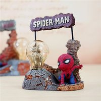 Spider man GK star lights student gift Nightlight Muebles para el hogar decoración del dormitorio ideas de decoración