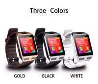 наручные часы оптовых-Smartwatch 2016 последний DZ09 Bluetooth Smart Watch с SIM-картой для Apple Samsung IOS Android сотовый телефон 1.56 дюйма бесплатно DHL smartwatches