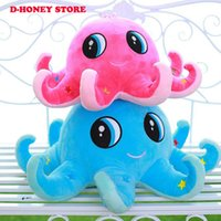 Wholesale Octopus Toy For Babies - 30cm Kawaii Stitch Plush Toys Stuffed Octopus Animal Kids Toys Doll Soft Octopus Plush Baby Toys for Children Gifts
