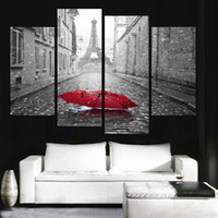 Wholesale Canvas Fashion Picture - Fashion Home design 2016 Modern city scenery printed on canvas beautiful pictures oil painting art coloring by numbers unframed