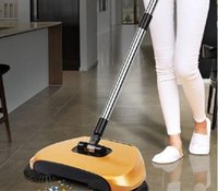 Wholesale Floor Cleaning Machine No Electricity Automatic Hand Push Sweeper