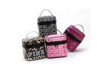 Wholesale Wholesalers For Womens Bags - New Hot sell Vitoria sacos FOR women zipper light women's makeup bag VS ladies BAG womens summer PINK big cosmetic box