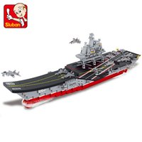 Wholesale Sluban Aircraft Carrier - ARMY SERIES 1:450 AIRCRAFT CARRIERS-- SLUBAN BLOCKS SLUBAN BRICKS 0399