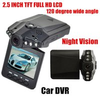 Wholesale Traffic Dvr Recorder - 2016 Time-limited Hot Sale Car Dvr 2.5 Inch Hd Led Ir Vehicle Road Dash Video Camera Recorder Traffic Dashboard Camcorder Lcd 270 Degrees