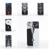 TPU owl tiger - High Quality Brand Marcelo Burlon Case Wolf Lion Tiger Owl Snake Hard funda case For iPhone s plus Plus cover