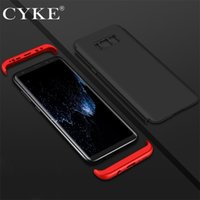 Wholesale full protector PC in1 For Samsung S8 plus S case protective case for Samsung Galaxy S7 edge iphone cover