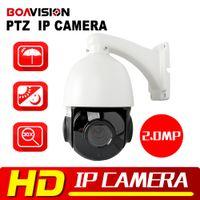 Wholesale Outdoor 264 Camera - 1080P PTZ IP Camera Outdoor Onvif 30X ZOOM Waterproof Mini Speed Dome Camera H.264 IR-CUT IR 50M P2P CCTV Security Camera