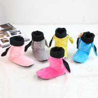 Wholesale Wholesale Wooden Couple - Wholesale-2015 New Winter Indoor Home Slippers Cotton Plush Indoor Slipper Couples Wooden Floor Slippers Plush Household Shoes shoes woman