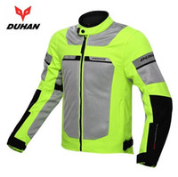Wholesale Duhan Race Jacket - Genuine DUHAN Men Windproof Summer Jackets Breathable Male Motorcycle Racing Jacket Motocross Clothing With Waterproof inner
