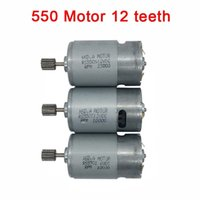 Wholesale Electric Motor 12 Dc - Dc motor 12v for children electric car,Remote control car dc engine 6v, baby car electric motor rs550 gearbox 12 teeth engine