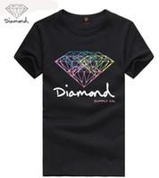 Wholesale Diamond Supply Shirts Free Shipping - Free Shipping mens t shirts fashion 2017 diamond supply co men t shirt High quality cotton O-Neck short sleeve tee shirt