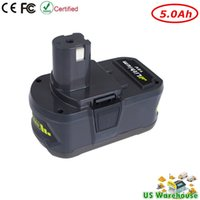 Wholesale 18v Lithium Cordless Drill - New 18V 5.0Ah Lithium Battery for Ryobi 18-Volt ONE+Cordless Drill Power Tool Battery P102 P105 P107 P108 P200 P2000 P2002 P201 P203 P204
