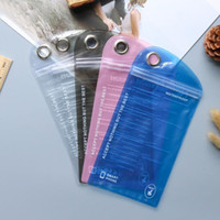 Wholesale Wholesale Waterproof Zip Bags - Waterproof Zip lock bags Zipper Retail Package Bag Cell Phone Iphone Case Plastic Clear PVC Packing Bags Hang Hole Packaging Pouches bags