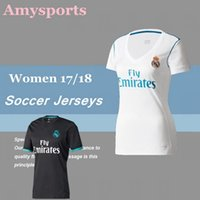 2017/2018 Femmes Real Madrid Mexique Chivas soccer jerseys home away lady girls football football shirts