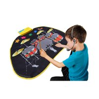 Wholesale Educational Baby Carpet - Music Play Mat Blanket Carpet Kids Baby Toy Musical Jazz Drum Mat Educational Toy for Children Baby 72 * 65 CM