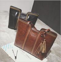 Wholesale Tassel Totes Bag For Sale - 2017 New Designer Purses Handbags Sale Belt Buckle Handbags For Women Single Shoulder Totes Bag All-match Bags Designer Handbags