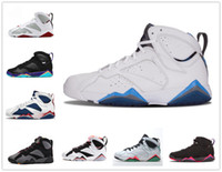 Wholesale hare 7s shoes for sale - 7s Classic basketball shoes men women french blue hare lola bunny verde Bordeaux raptor black red white alternate sneakers US13