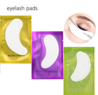 Wholesale Eyelash Extension Lint Free Pads - Thin Hydrogel Eye Patch for Eyelash Extension Under Eye Patches Lint Free Gel Pads Moisture Eye Mask OOA2153
