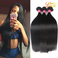 Wholesale Mongolian Weave Prices - Malaysian Virgin Hair Extension Straight 100% Human Hair Weft Wholesale Price Brazilian Peruvian Malaysian Mongolian Straight Natural Color