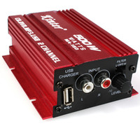Kinter MA-150 500W 5V Mini Hi-Fi stereo amplificatore di potenza digitale MP3 Car Audio Altoparlante con Mini USB