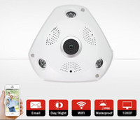 Hot selling 960P WIFI Wireless IP Camera HD H.264 Smart 360 Degree Panoramic VR CCTV Security Camera Home Protection Surveillance