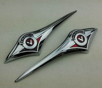Wholesale Gas Scooter Motorcycle - Motorcycle Scooter Gas Tank Emblem Badge Chrome Classic VN2000 Fuel Tank Decal Sticker For Kawasaki Vulcan VN for Harley