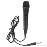 máquina de gravação venda por atacado-Uni-direcional Microfone Com Fio Dinâmico para Gravação de Voz Máquina de Cantar Sistemas de Karaokê e Computadores KTV + NB