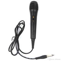 karaoke-maschine mikrofon großhandel-Unidirektionales Mikrofon Wired Dynamic für Sprachaufnahmen Singing Machine Karaoke Systeme und Computer KTV + NB