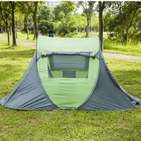 Ouverture automatique Camping Tents Outdoors Camping Shelters Protection UV Tente pour Beach Travel Lawn Home Colorful Free DHL