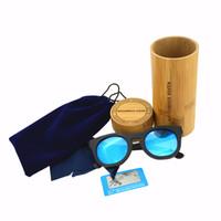 gafas de sol de marca china al por mayor-Gafas de sol de bambú de los fabricantes de los sunglass de China con la caja de los sunglass Gafas de sol del diseñador GALOS de HALLOWEEN Marca Espejo Gafas de sol de madera