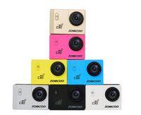 Wholesale soocoo online - Original SOOCOO inch LCD C30 C30R Sports Camera Wifi K Gyro Adjustable Viewing angles Degrees NTK96660 M Waterproof Action Camera