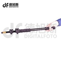 Wholesale Pole Extension - Wholesale- DIGITALFOTO Extension support rod photography flash Speedlite 63-158cm Stick rod photo studio microphone boom pole Handheld Grip