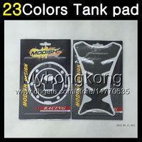 tanques de gas honda al por mayor-23Colors Protector de almohadilla del tanque de gas de fibra de carbono 3D para HONDA CBR600F4 99 00 99-00 CBR600 F4 CBR 600 F4 CBR 600F4 1999 2000 3D Etiqueta engomada de la tapa del tanque 3D