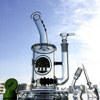 "Wholesale Hookah Balls - 14.5mm Joint Beehive Perc Oil Rig 11.5"" Inch Ball Perc Hookahs Water Pipe With Glass Bowl & Quartz Banger Glass Bong DGC12572"