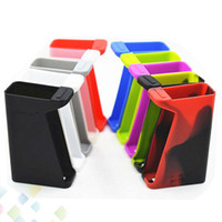Wholesale Soft Rubber Sleeves - H-Priv 220W Silicon Case Colorful Skin Cases Soft Silicone Rubber Sleeve Cover Skin For Smok H Priv 220W TC Box Mod DHL Free