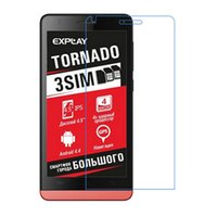 Wholesale Body Guards Phone - Wholesale-wholesale Tornado HD Screen Protector Film Cell Phone Anti-Scratch For Explay Tornado Screen Guard 3PCS Lot