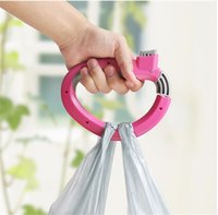 Soft Grip Shopping Grocery Bag Easy Carry Tool Handle Holder Tool para apenas uma viagem nova