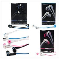 Wholesale Sms Audio Pink - Fashionable Mini 50 cent with mic and mute button SMS Audio In-Ear headphones earphone STREET by 50 Cent High Quality FREE EMS 1lot= 100pcs