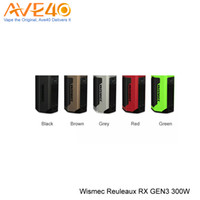 Wholesale Small Fit - Wismec RX Gen3 Box Mod 300W Max Out Put with Smaller Body Updated Wismec RX200s RX2 3 100% Original fit Ijoy Captain Sub Ohm Tank