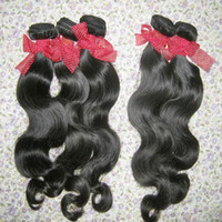 Wholesale Human Hair Filipino - High Quality 8A Virgin Unprocessed Body Wavy Filipino Human Hair 3 bundles Natural Color Big Promotion