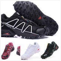 Wholesale Speed Laces - hot sale 2017 CASUAL Zapatillas Speedcross 3 4 ATHLETIC Shoes new Walking Speed cross shoes 2018