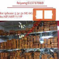 iphone schirmformen großhandel-Für iphone 5 5c 5 s 6 6 s 6 p 6 s P 7 7 p Plus Hohe qualität renovierungsform form lcd display touchscreen reparatur halter