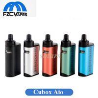Wholesale Lipo Max - Authentic Joyetech Cubox Aio Starter Kit 50A Max 2000mAh Lipo E Cigarette Vape Kid 5 Colors 100% Original