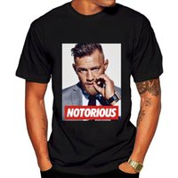 Wholesale T Shirts Cheap Xl - Conor mcgregor Adult 2017 new High Quality 100% Cotton men's T Shirt cheap sell Free shipping
